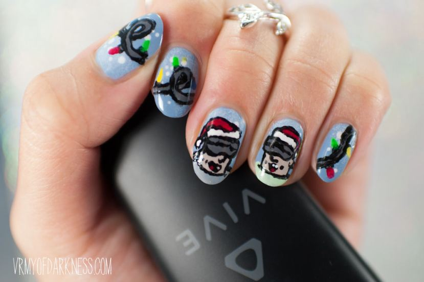 Nail art vrmy of darkness full confession before vrmy of darkness i ran a nail blog im entering this nail art into nail polish canadas holiday 2016 nail art contest prinsesfo Image collections
